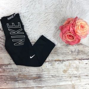 Nike Pro Hypercool Capri yoga pants